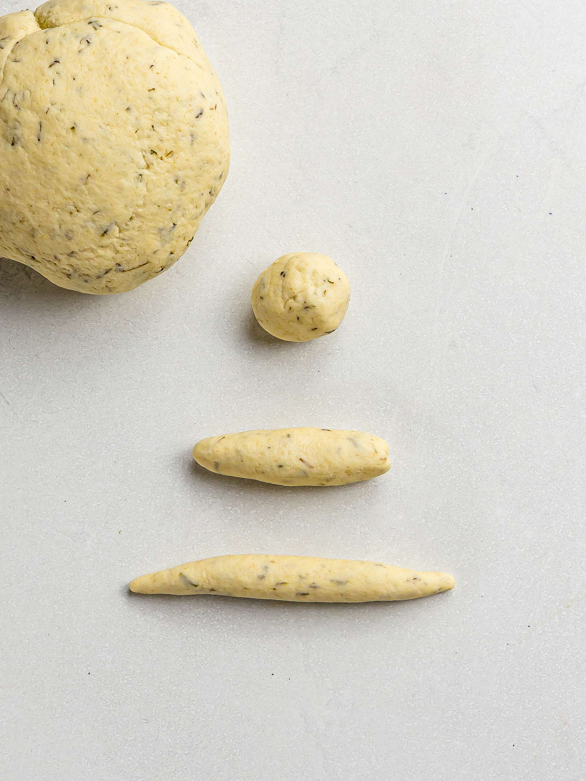 how to shape jamaican spinner dumplings
