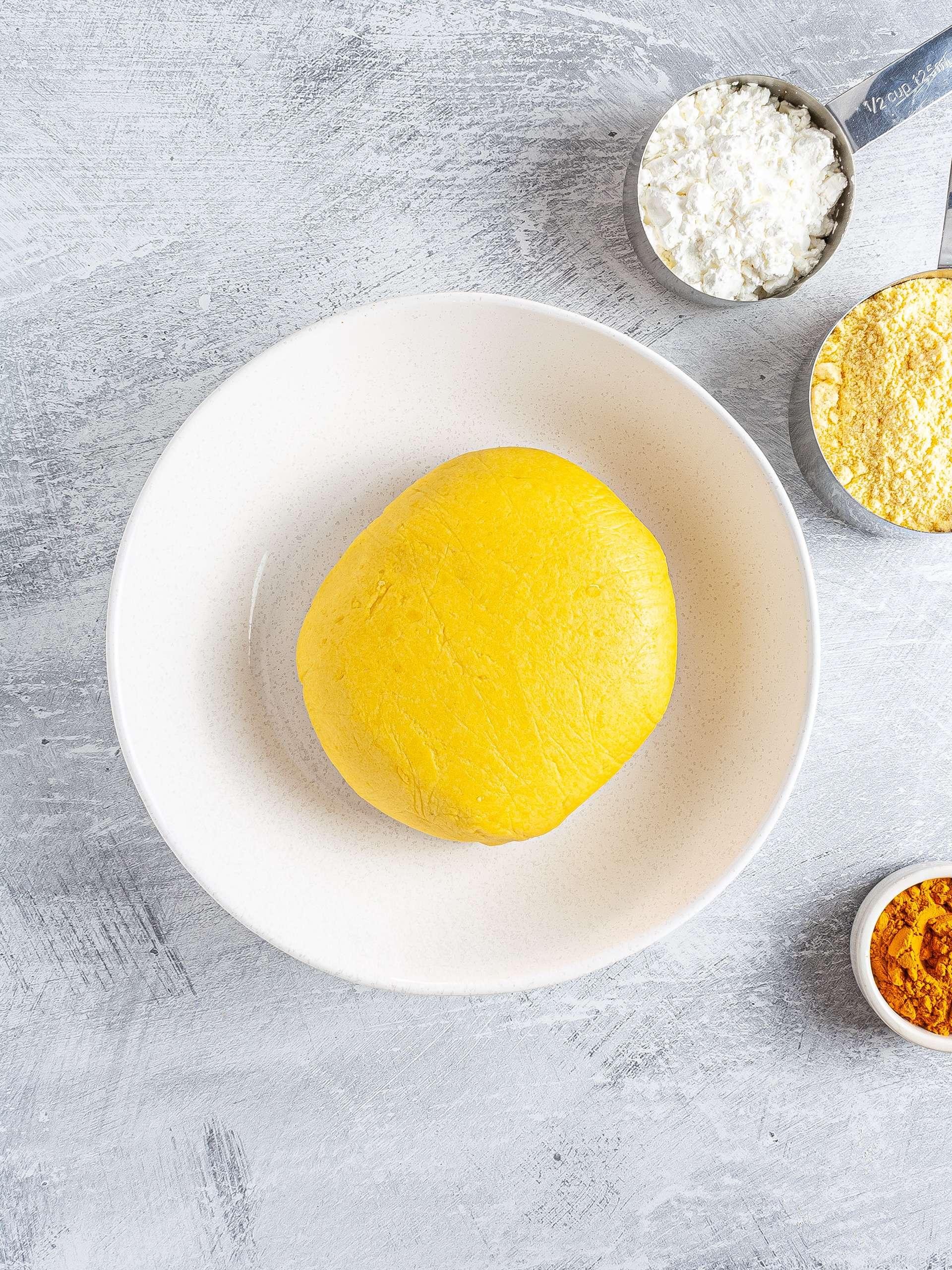 gluten-free chapati dough
