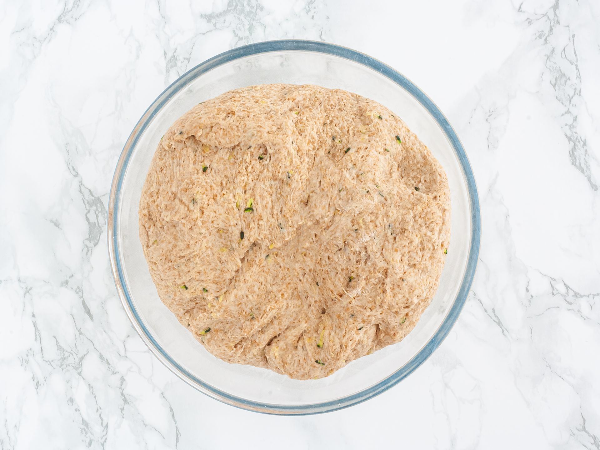 Step 2.1 of Zucchini Garlic Bread Recipe