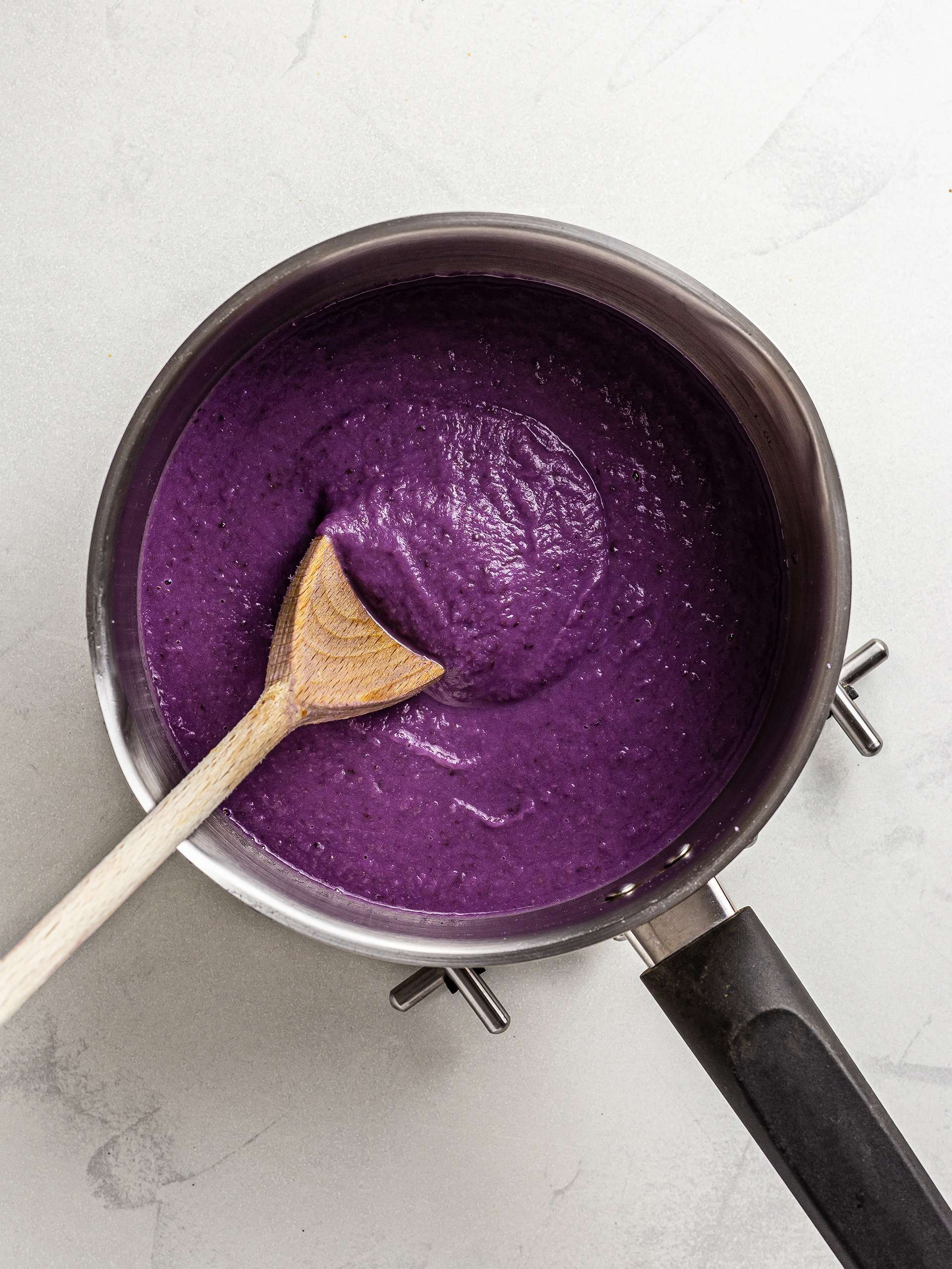 red cabbage veloute