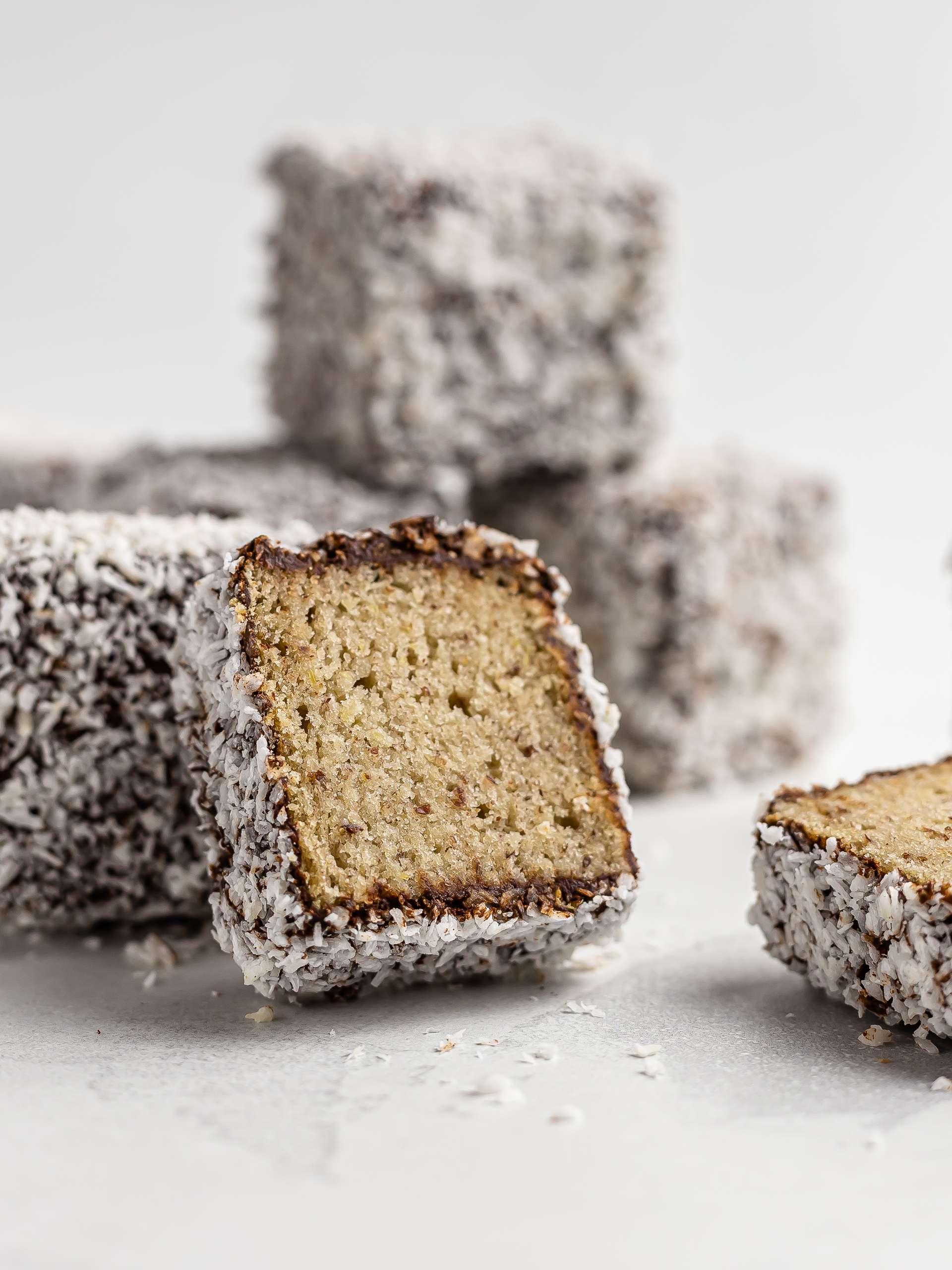 Vegan Gluten-Free Lamingtons Thumbnail