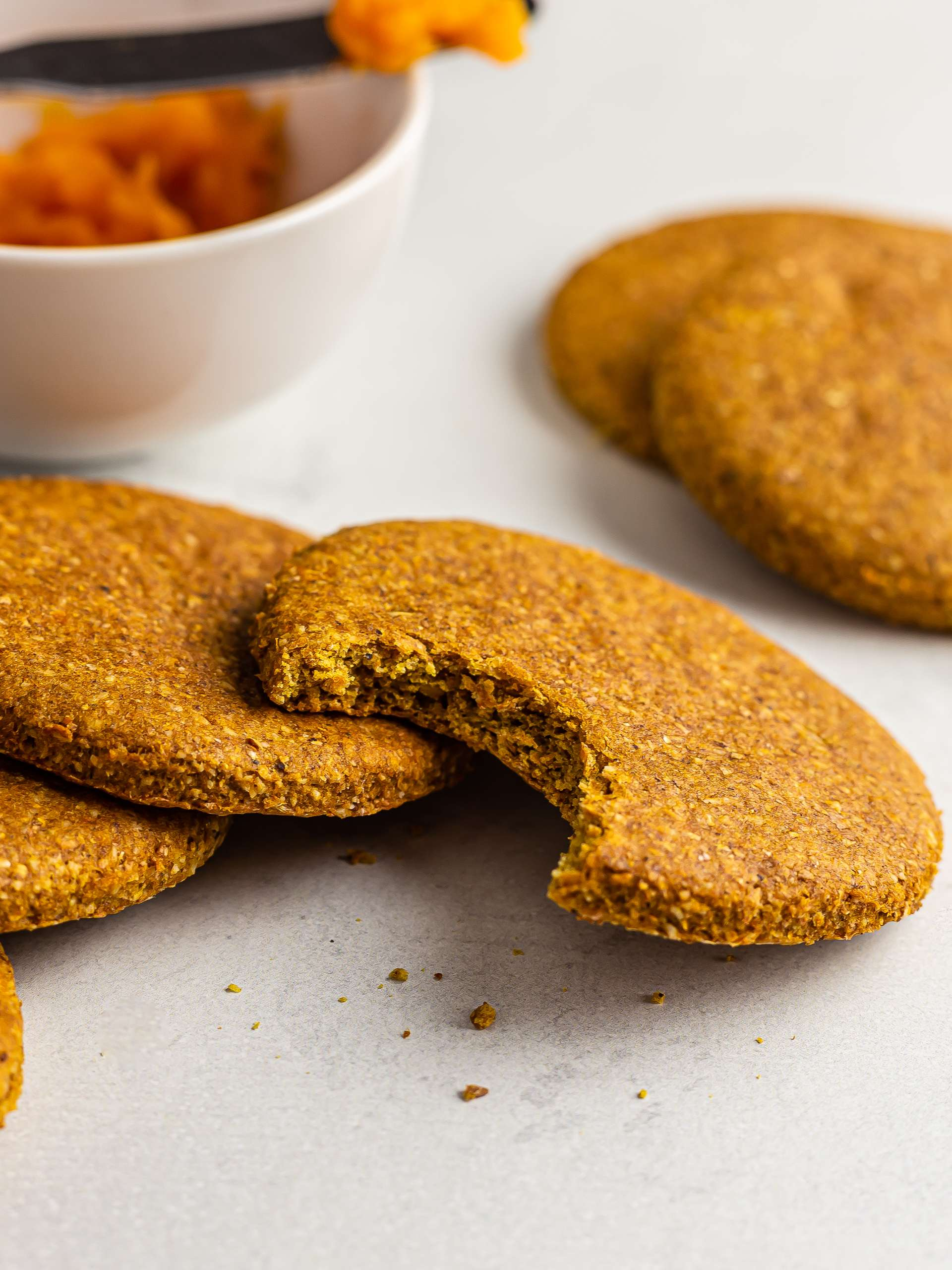 Butternut Squash Cookies {Vegan, Oil-Free} Thumbnail