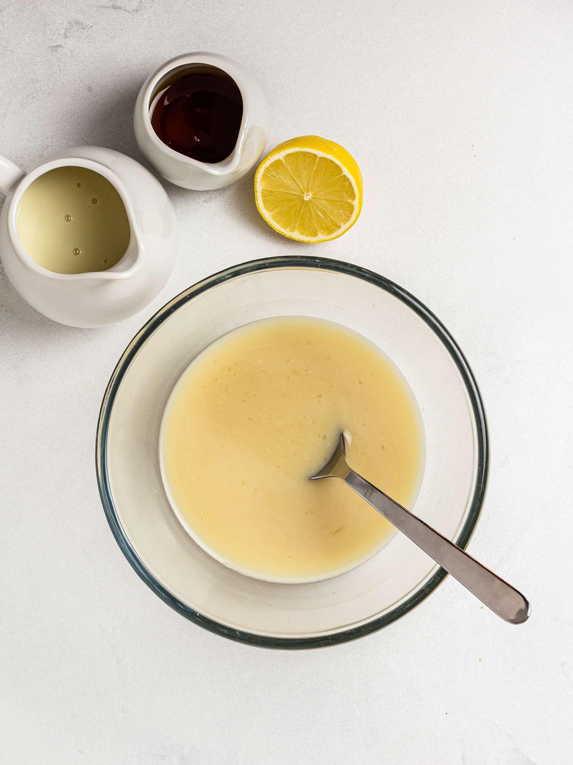 vegan buttermilk in a bowl