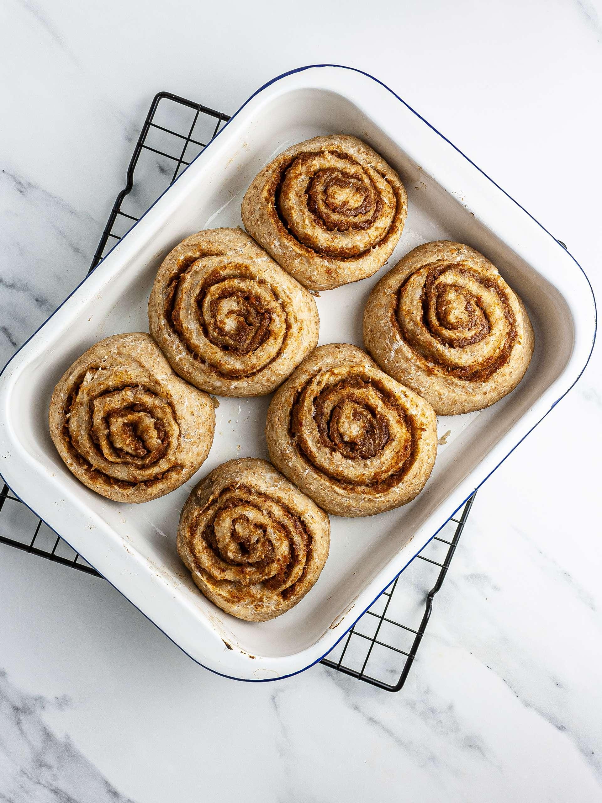 Step 6.2 of Vegan Sourdough Cinnamon Rolls Recipe