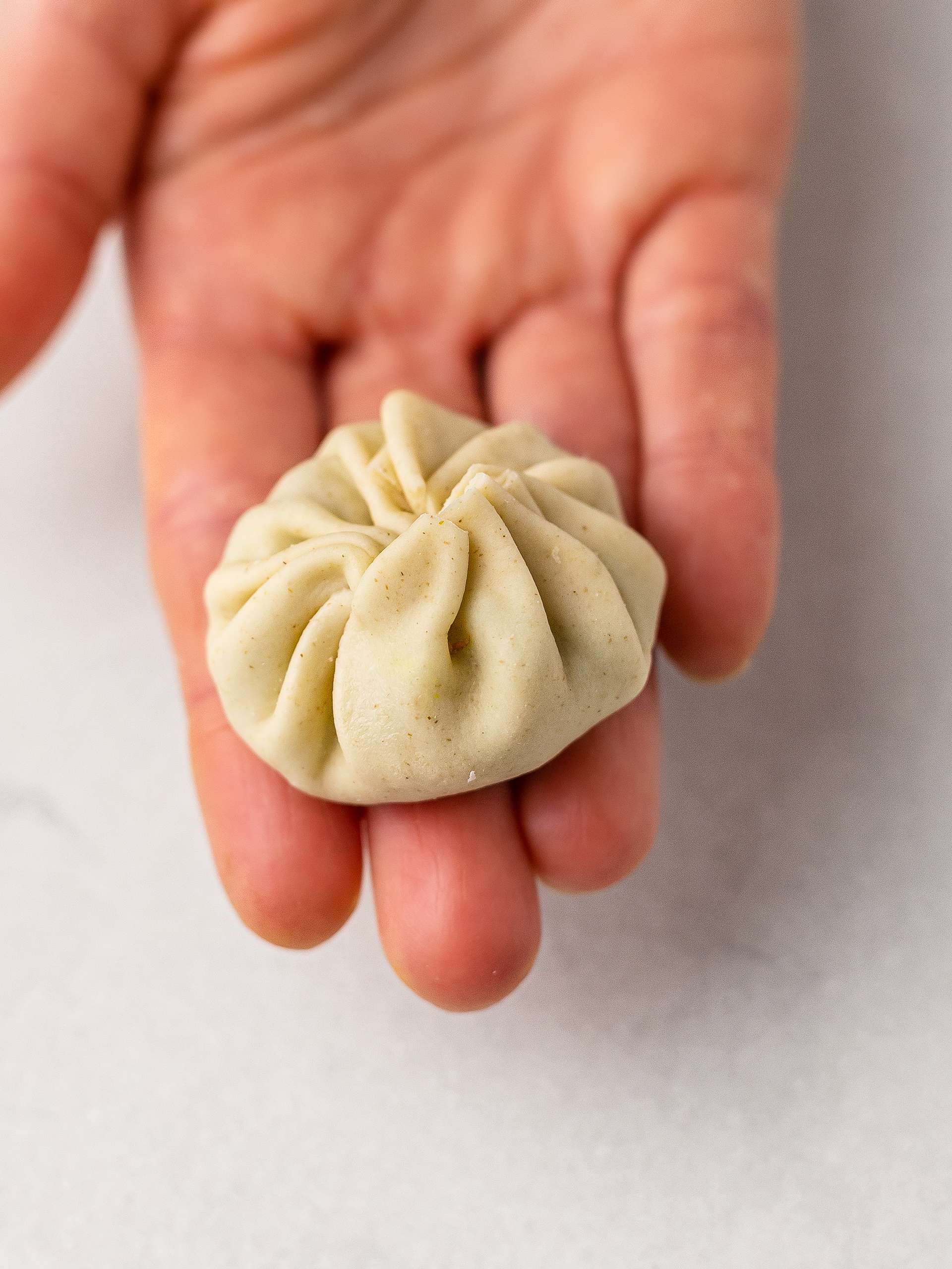 Step 5.2 of Vegan Momos Recipe