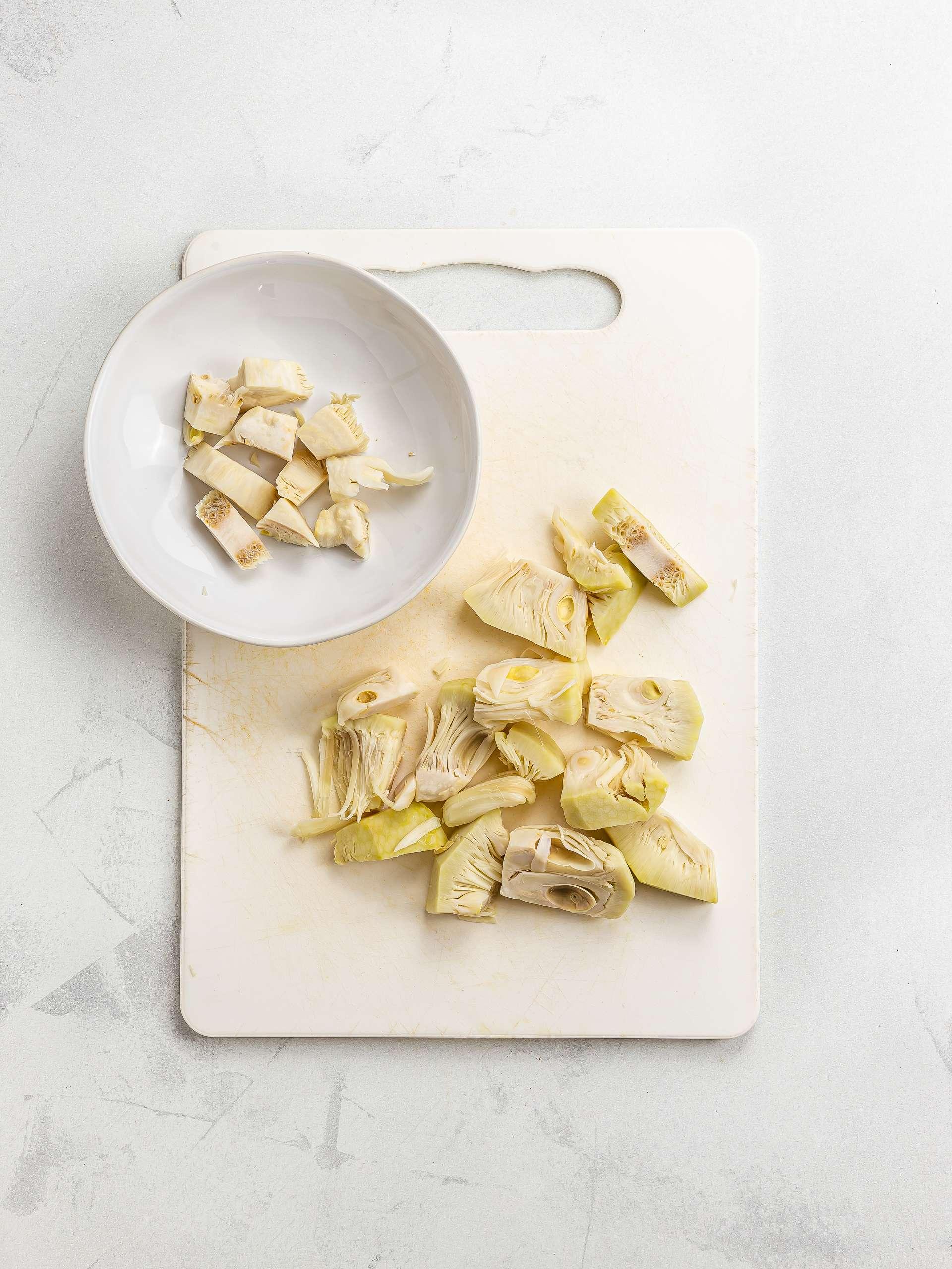 chopped jackfruit
