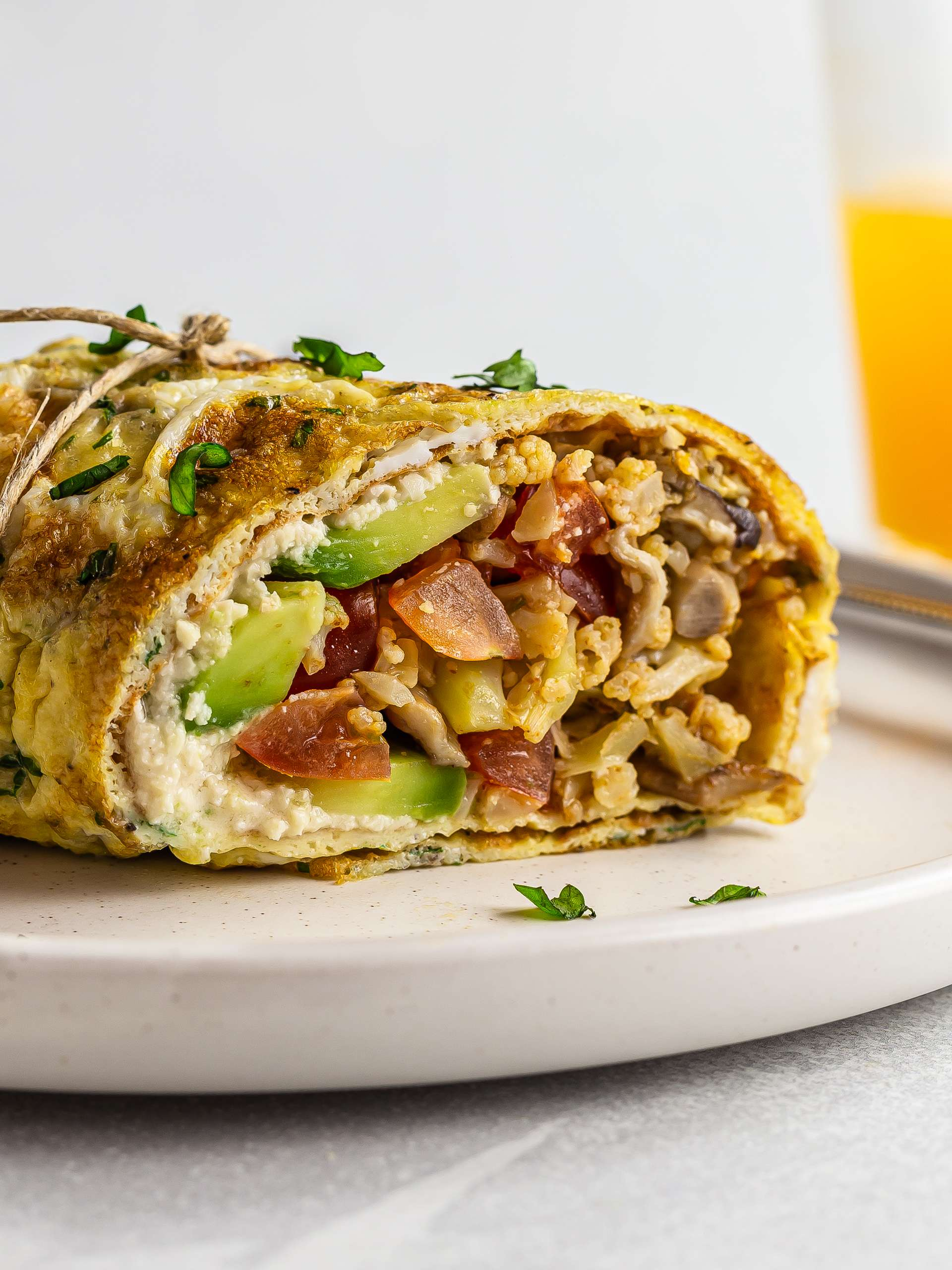 Keto Breakfast Burrito (Dairy-Free)