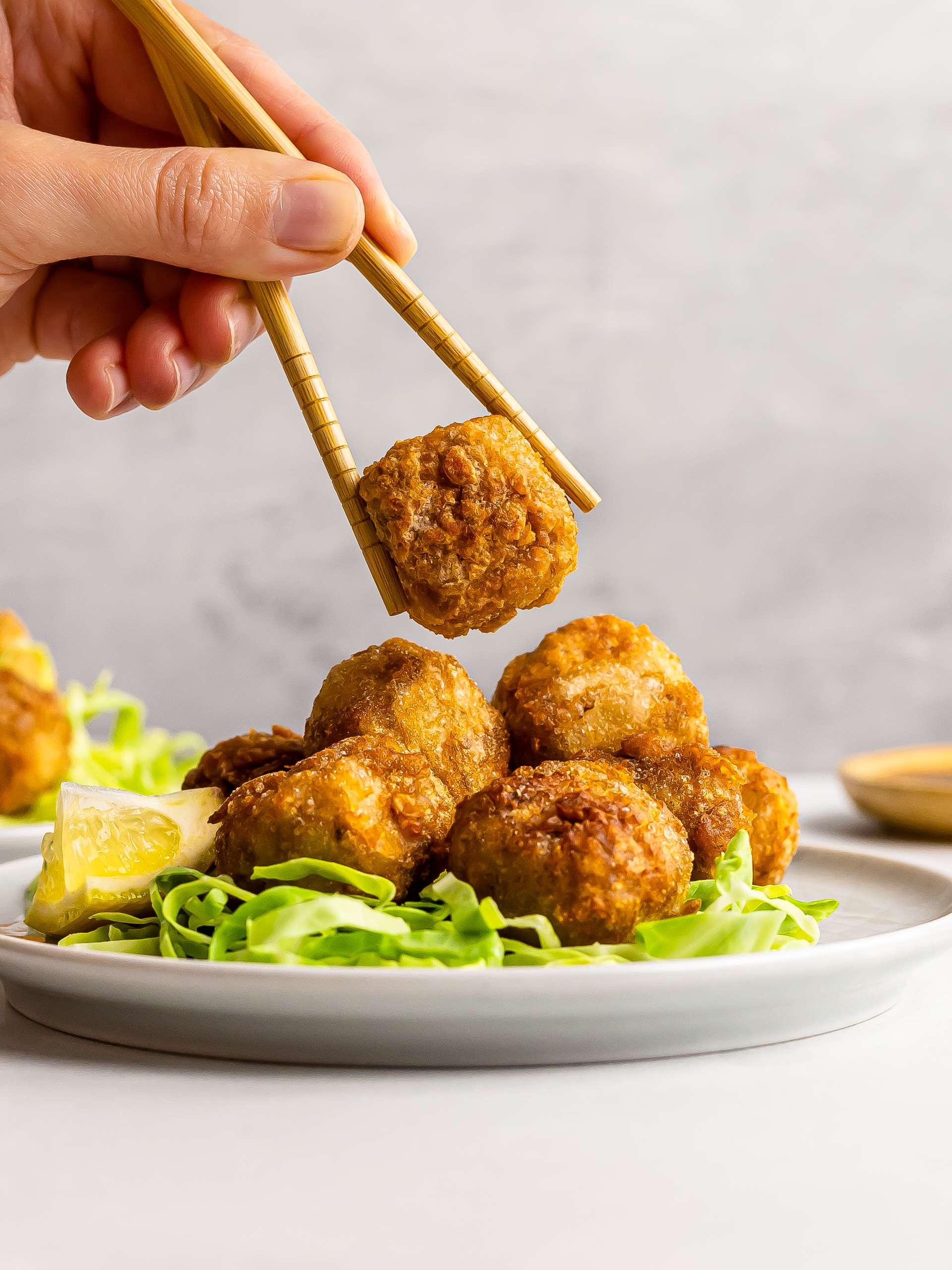 Vegan Tofu Karaage