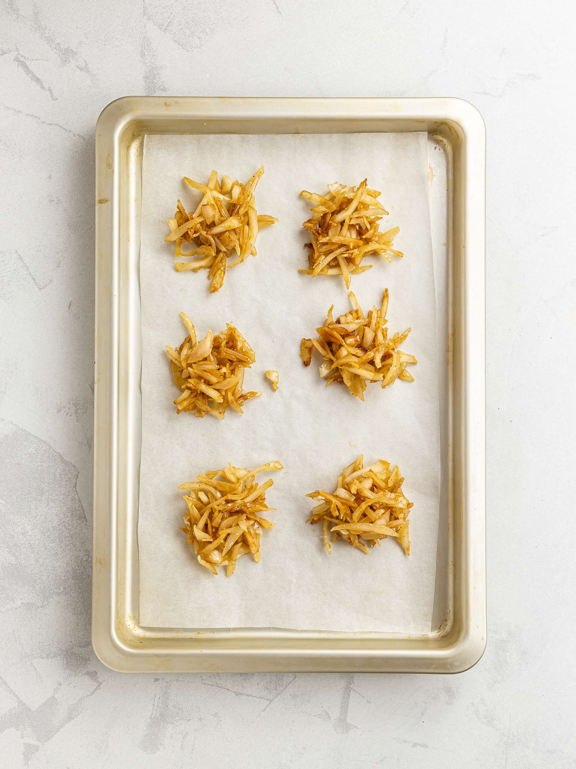 jamaican coconut drops on a tray