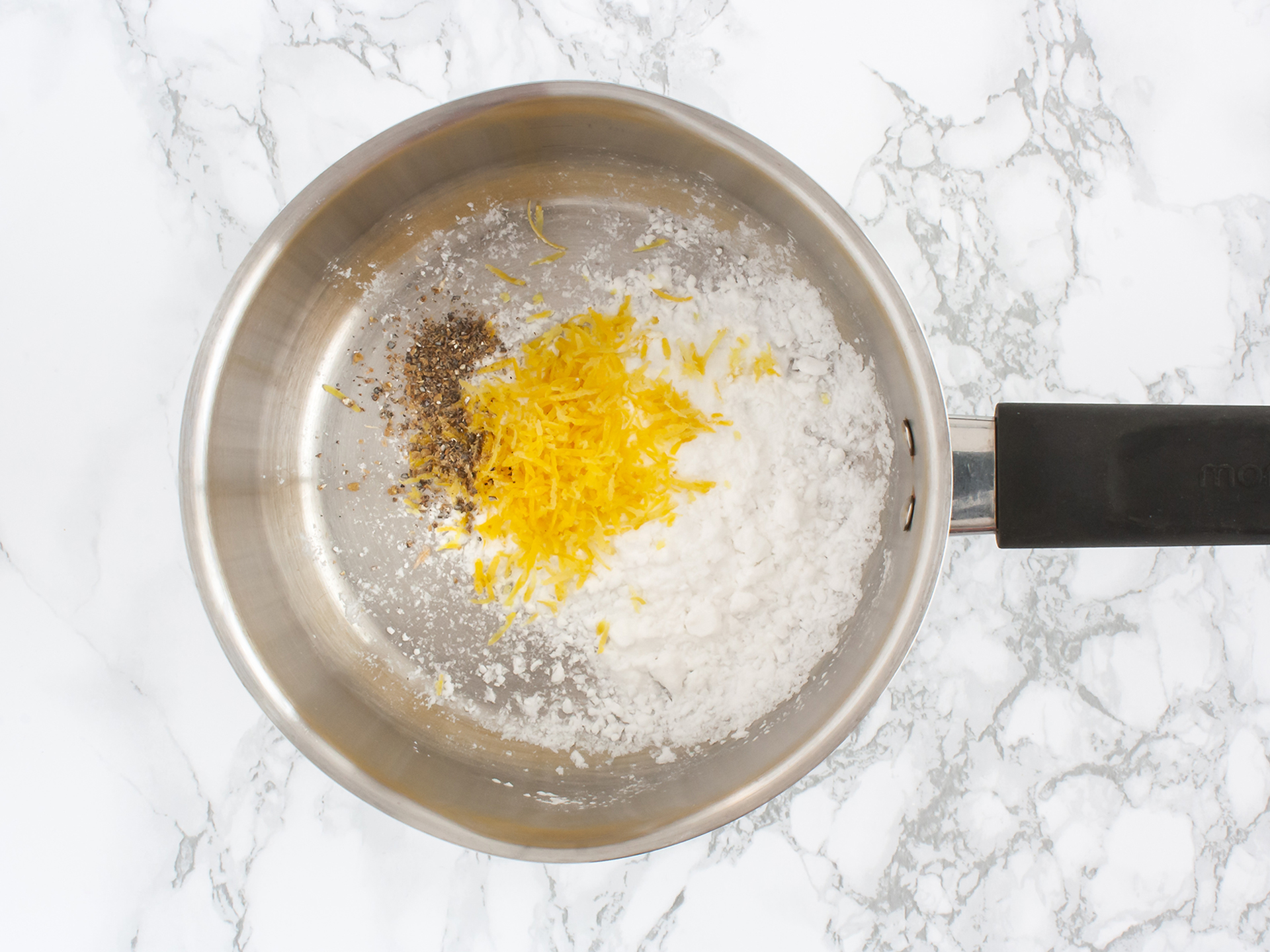 Step 1.2 of Homemade Vegan Lemon Curd