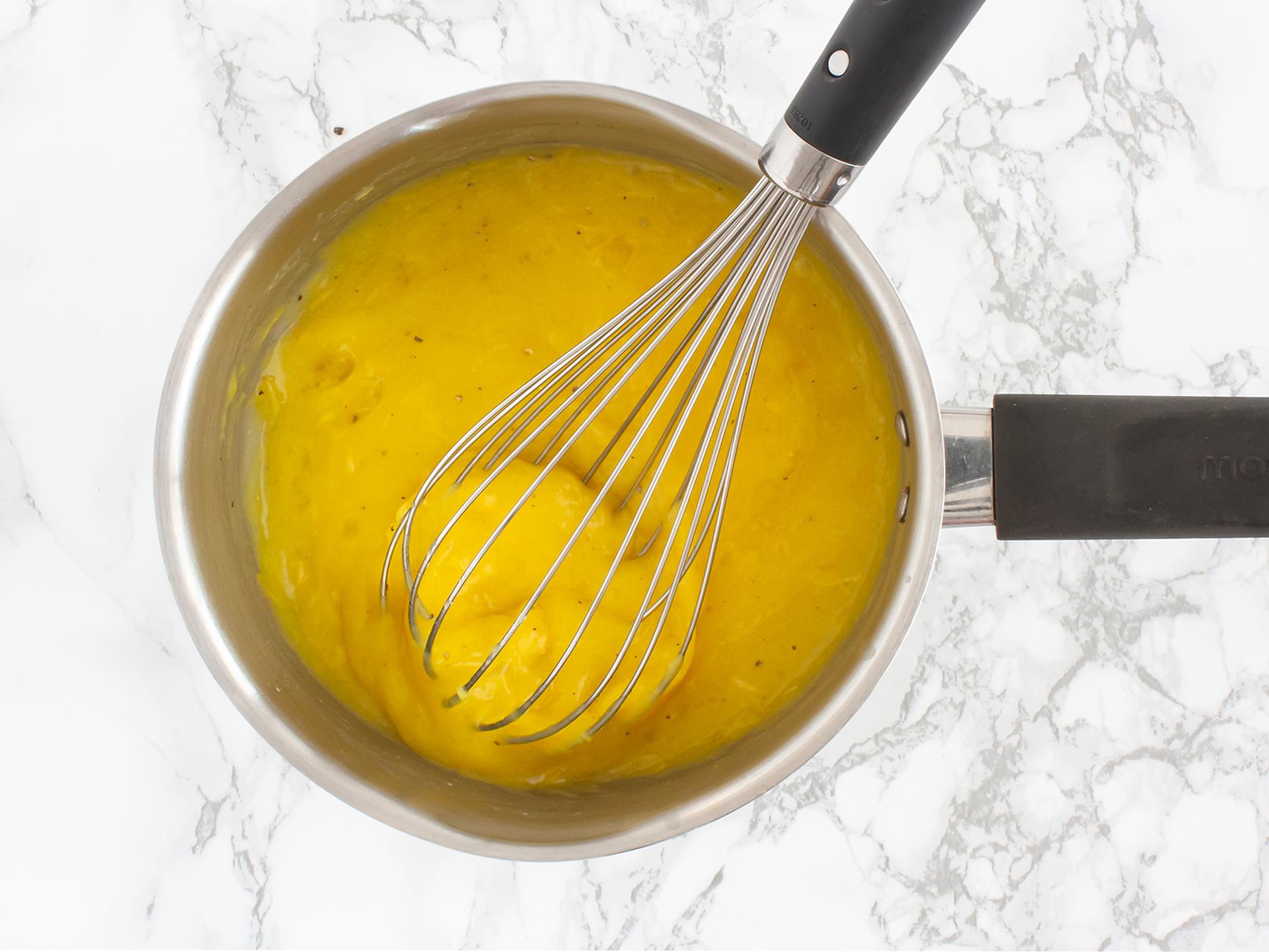 Step 2.2 of Homemade Vegan Lemon Curd