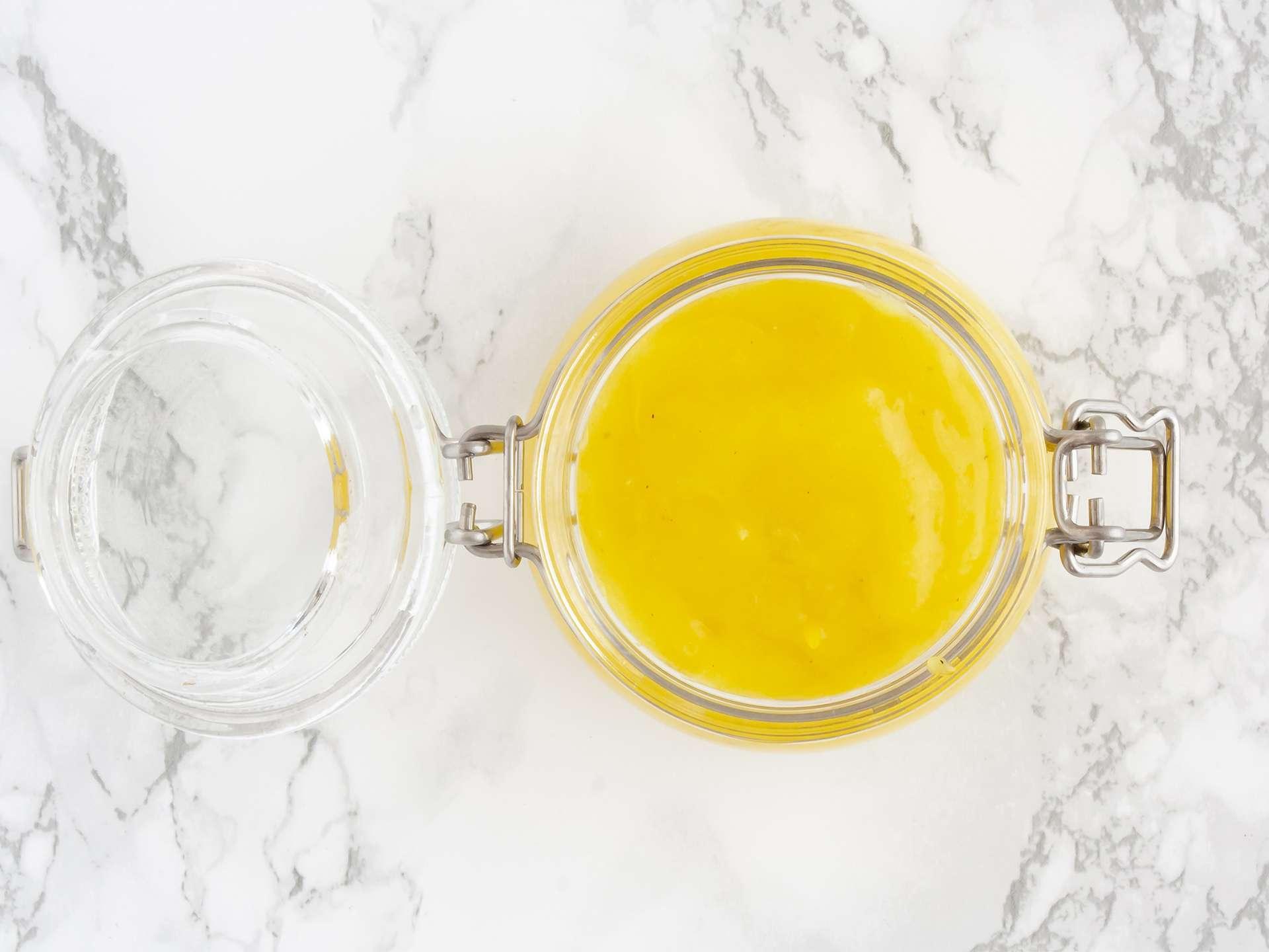 Step 3.2 of Homemade Vegan Lemon Curd