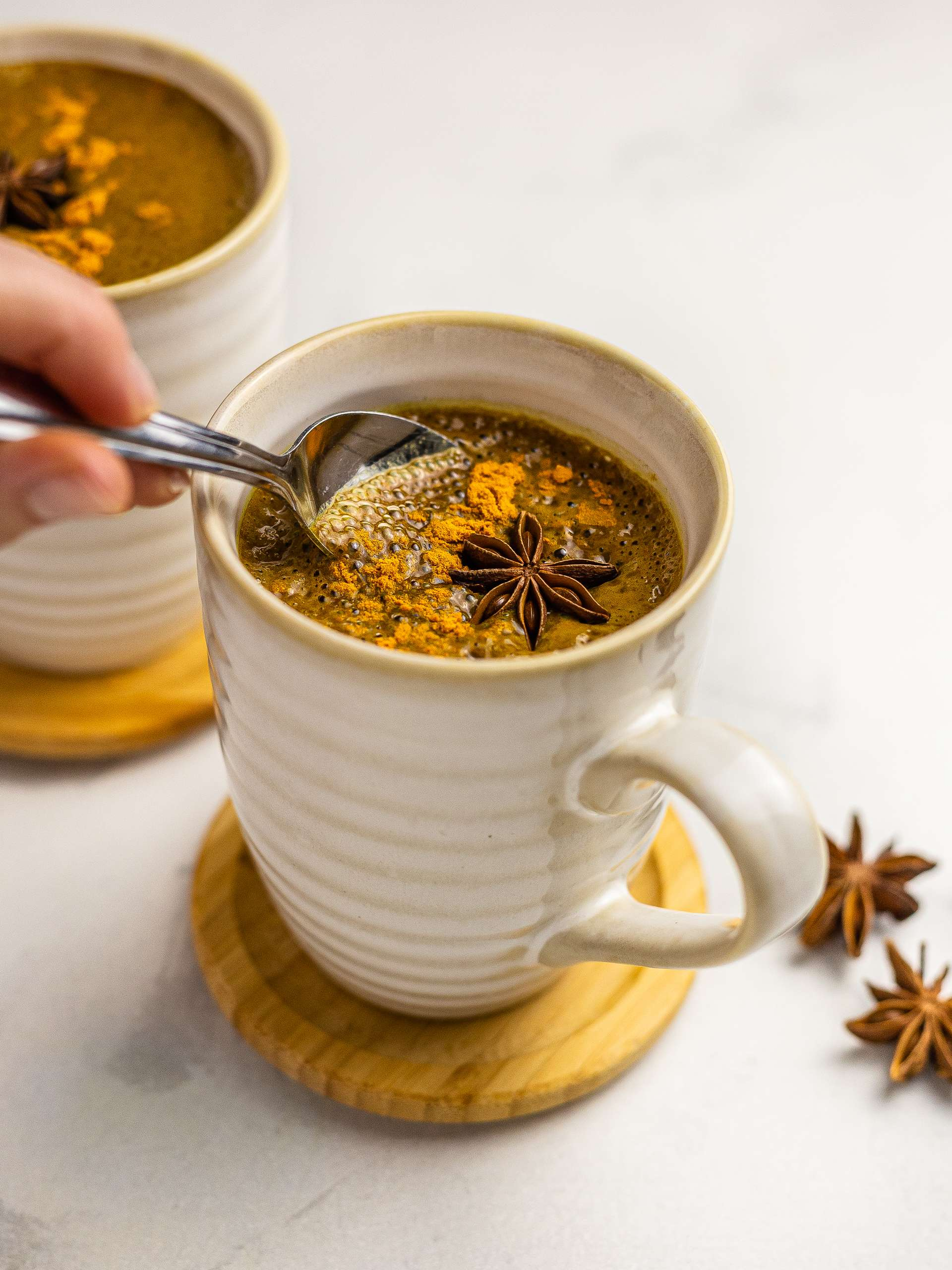 Turmeric Hot Chocolate Recipe Thumbnail