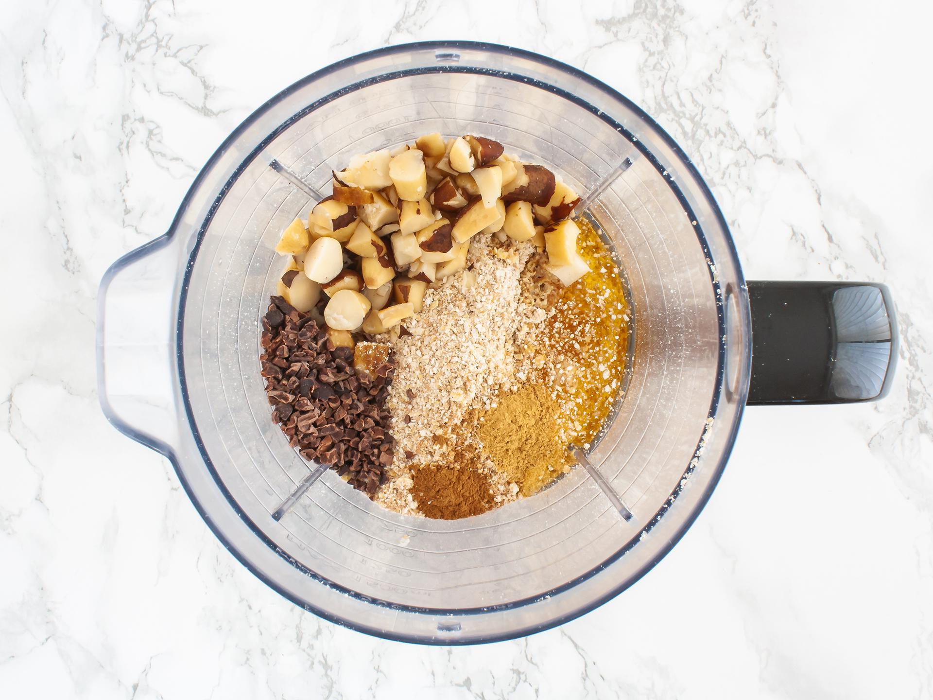 Step 1.2 of Chocolate and Coconut Cashew Truffles Recipe