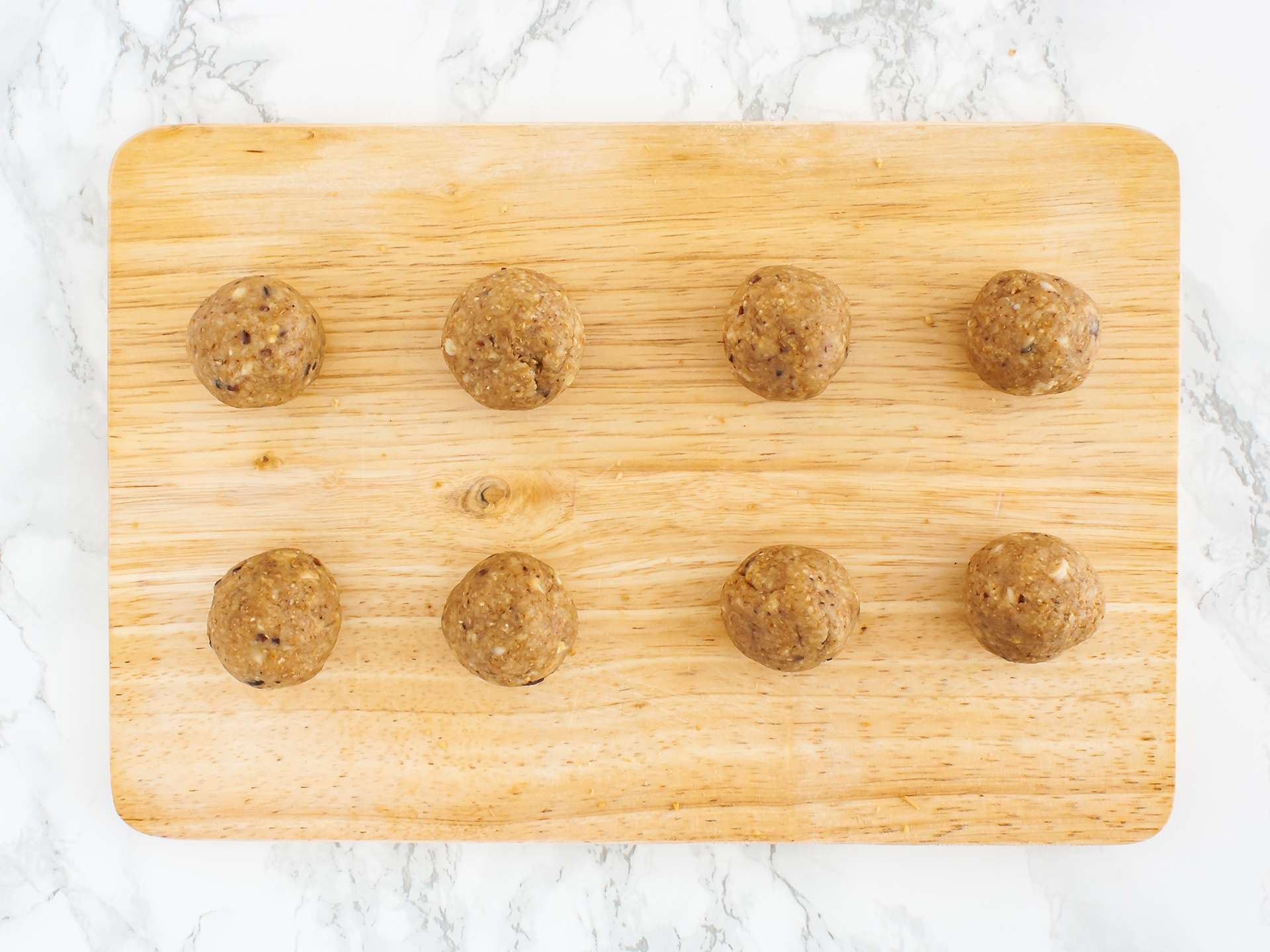 Step 2.2 of Chocolate and Coconut Cashew Truffles Recipe