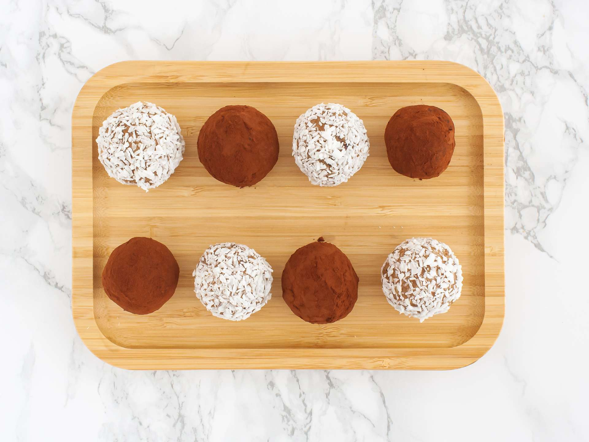 Step 4.1 of Chocolate and Coconut Cashew Truffles Recipe
