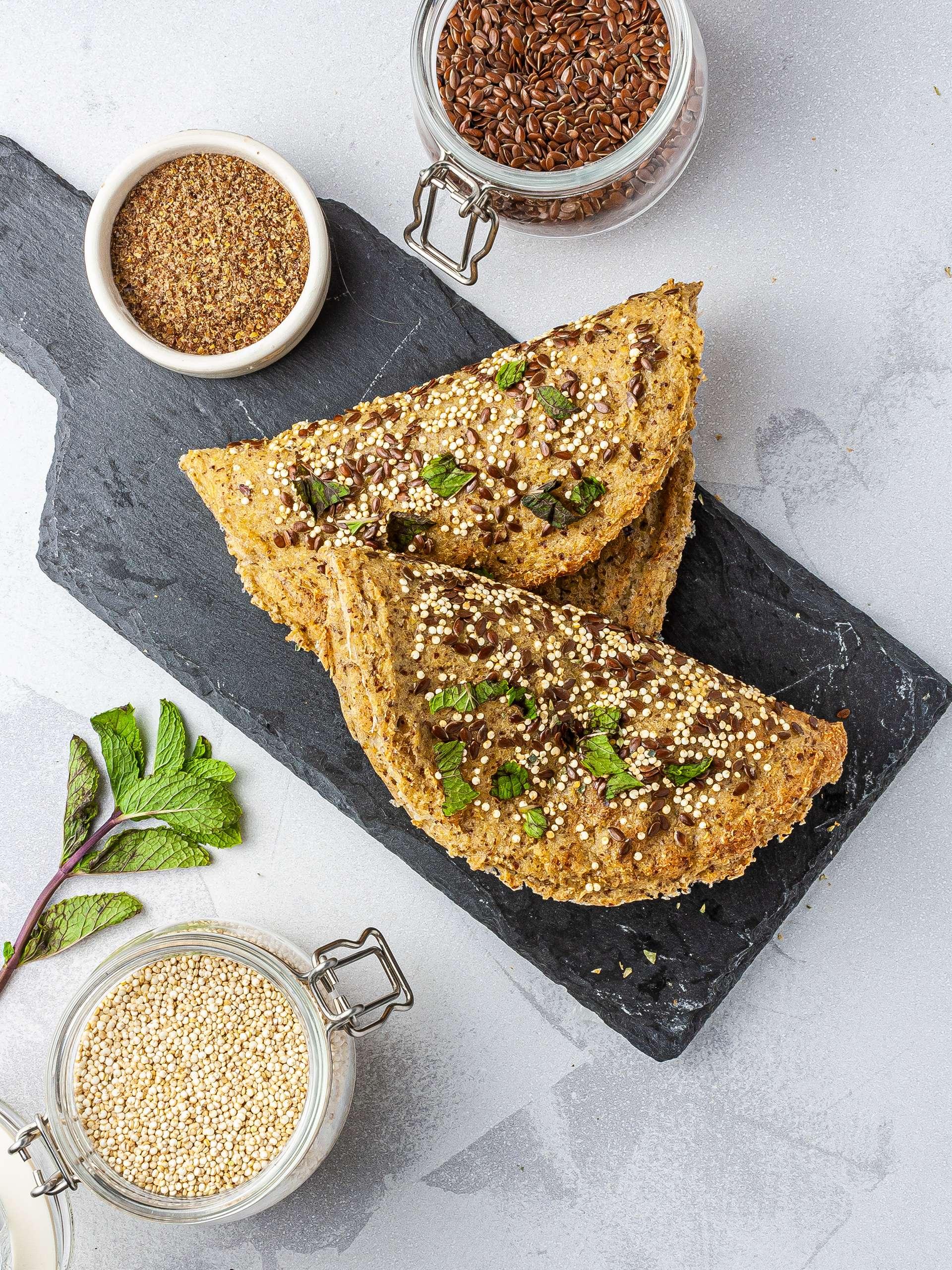 Gluten-Free Quinoa Flatbread Recipe Thumbnail