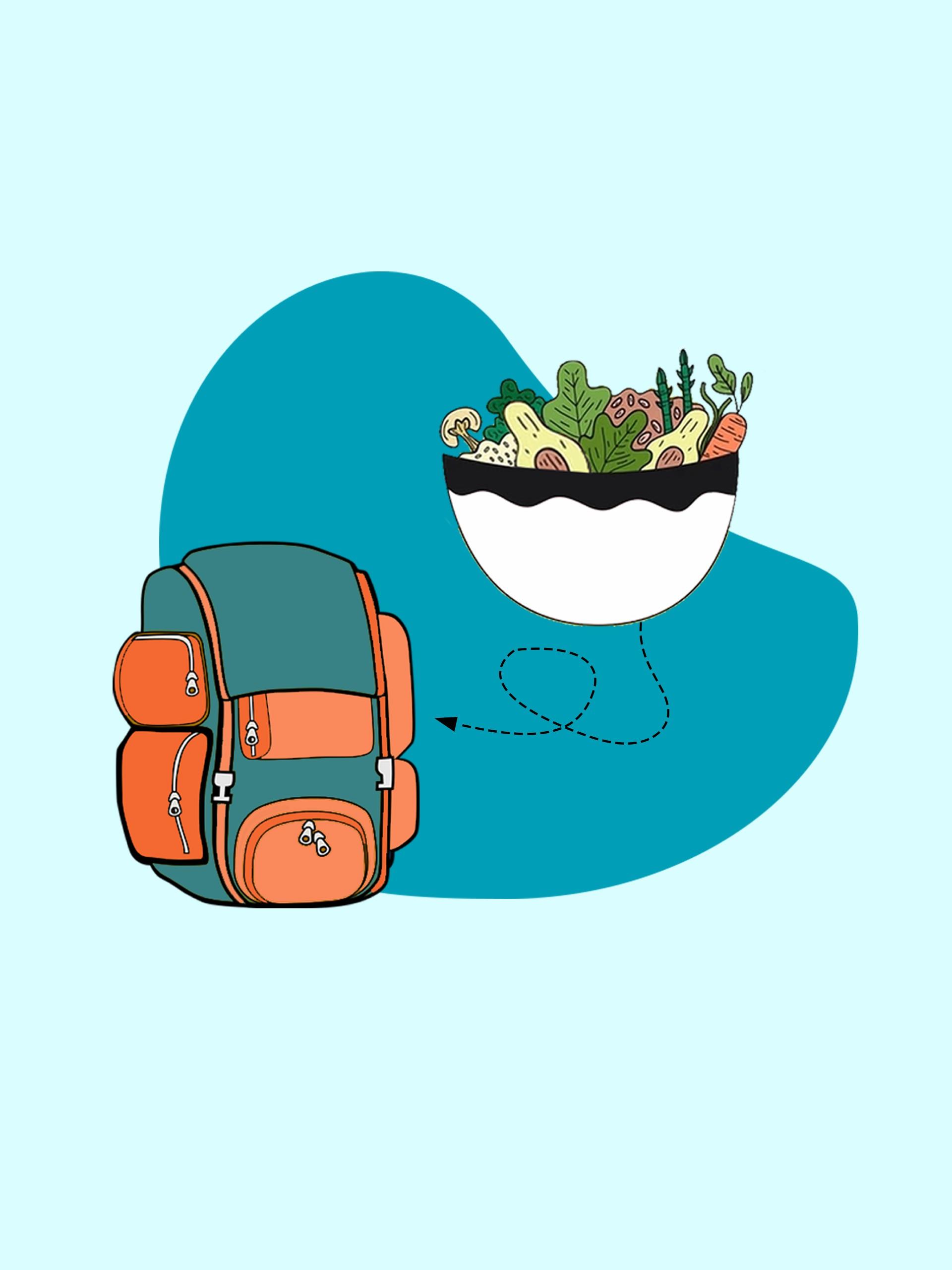 9 Nourishing Vegan Backpacking Lunch Recipes