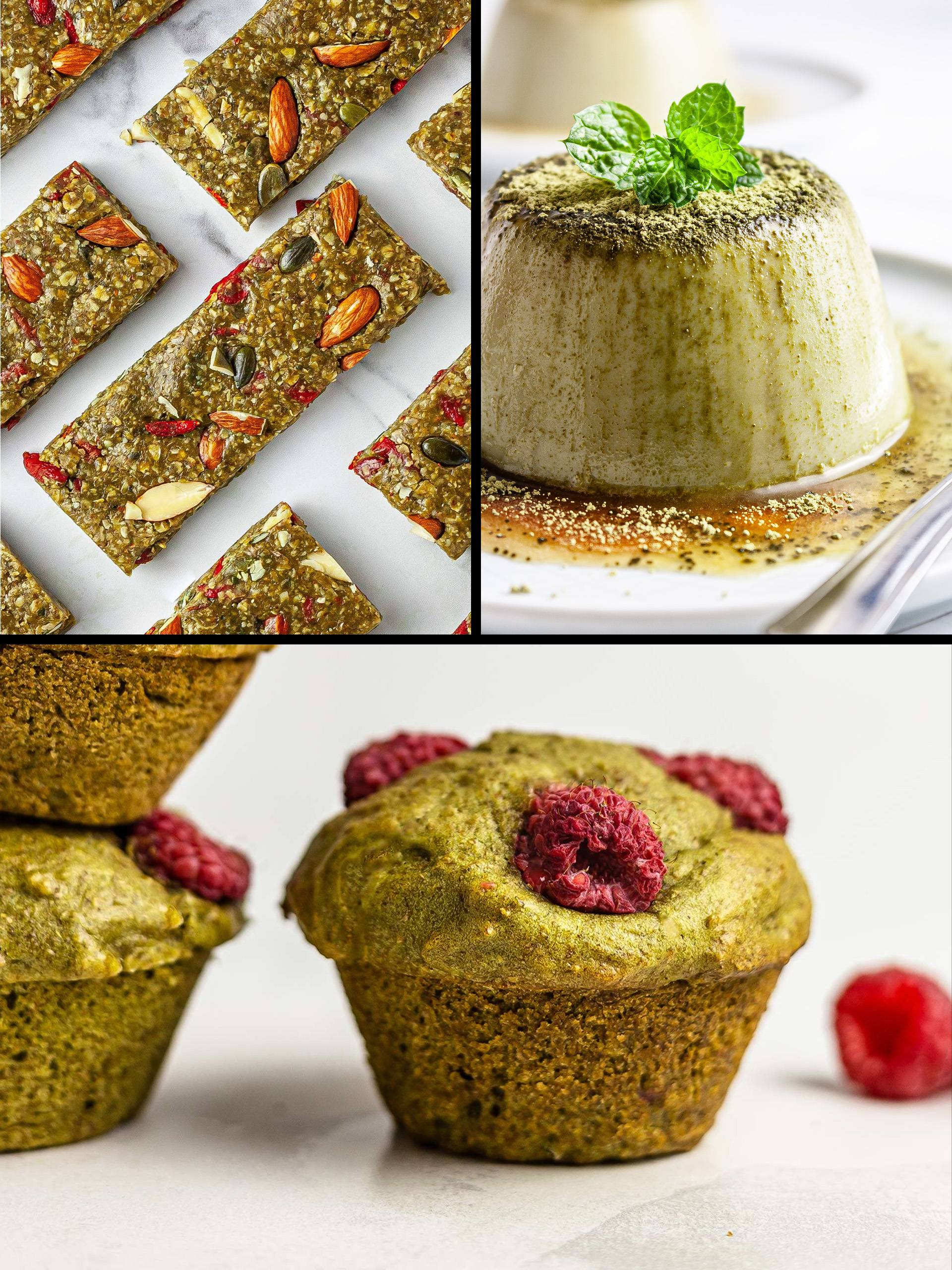 10 Delicious Treats Made with Matcha