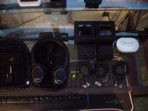 My headphones  2x Image X10i IEM's (Long story behind why I have 2 pairs) Altec Lansing Backbeat...
