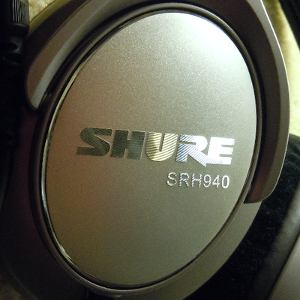 Shure SRH940 headphone