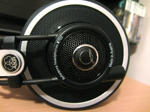 AKG Q701 Prototype (black)
