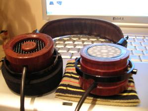 RS1 prototype, one of the oldest RS1, and both drivers are of the whitest type.  Shallow round...