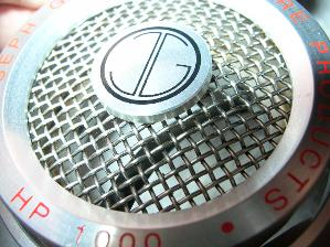 View of an empty HP2 cup.