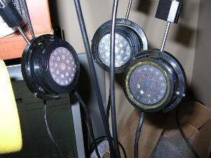 My mismatched drivers AND replaced screens SR200 next to my SR100-0-r