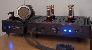 HeadAmp Blue Hawaii SE electrostatic amp & Stax SR-007 MK1 headphones