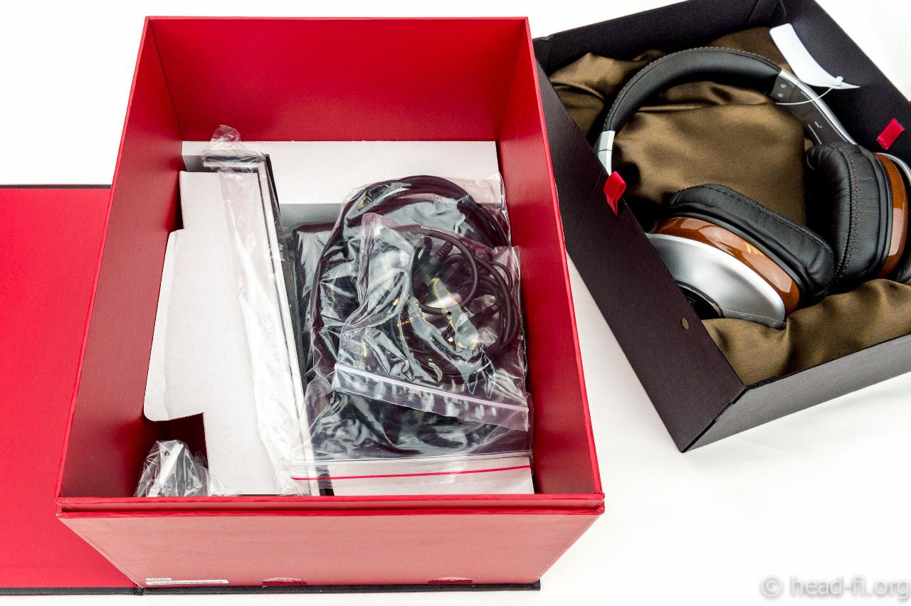Pre-production sample Denon AH-D7100 Artisan's accessories (one remote/mic cable, one...