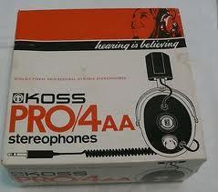 Vintage Koss Pro 4AA Box