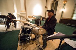 Billy Drummond on drums.