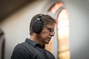 Chesky Records recording engineer Nicholas Prout serious about monitoring with the Sennheiser HD...