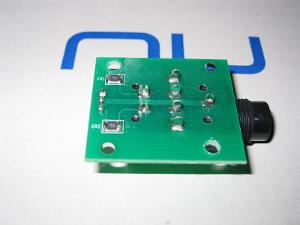 output jack 15 ohm resistors in series