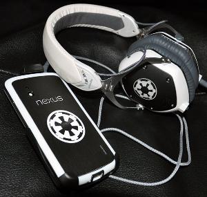 My Nexus 4 and V-Moda M100s.