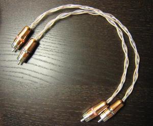 Copper and silver RCA