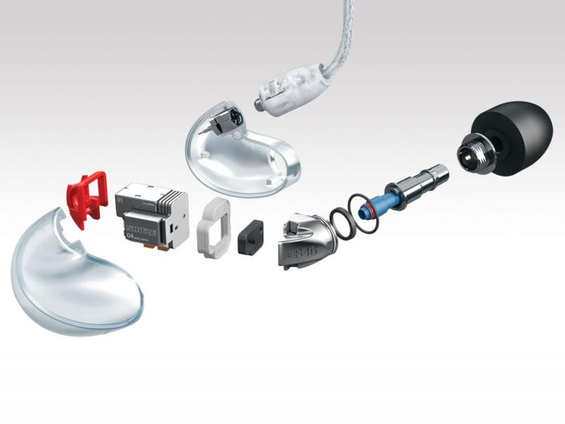 The latest addition to the award-winning Shure Sound Isolating™ Earphone line, the...