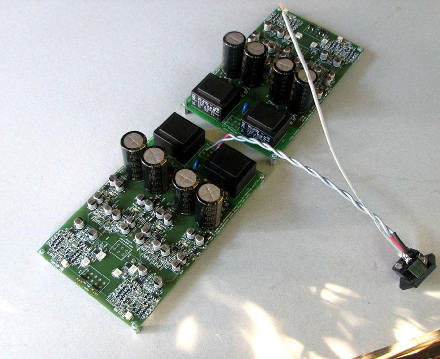 Dual Mono QRV08's ready for test