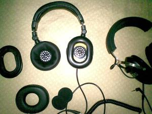 denon hp700 double pads koss qz99 and koss mv1