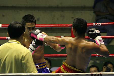 Feel the adrenalin rush of Muay Thai