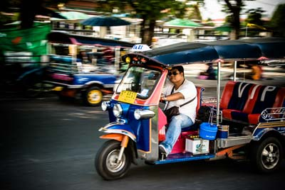 Experience Bangkok like a local on a Tuk Tuk