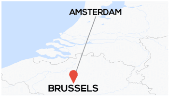 Amsterdam toBrussels