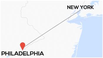 New York toPhiladelphia