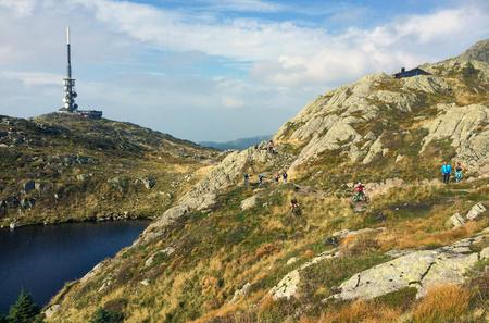 3-Hour Mt Ulriken Scenic and Cultural Hike