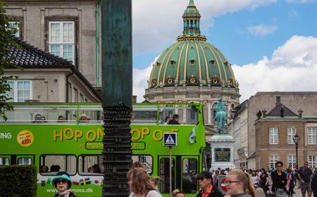 Copenhagen: 48-Hours All Lines Open Top Hop-On Hop-Off