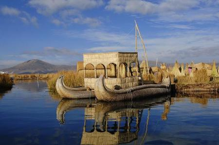 Lake Titicaca Full-Day Tour: Uros and Taquile Floating Islands