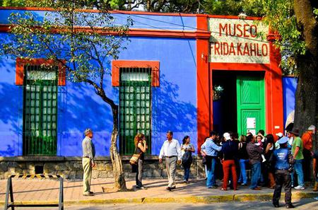Visit to Museums in Mexico City: National Museum of Anthropology, Frida Kahlo and Leon Trotsky Museum