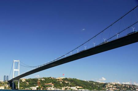 Bosphorus Bridge From Europe to Asia From Istanbul