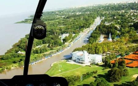Buenos Aires: 30-Minute City Tour by Helicopter
